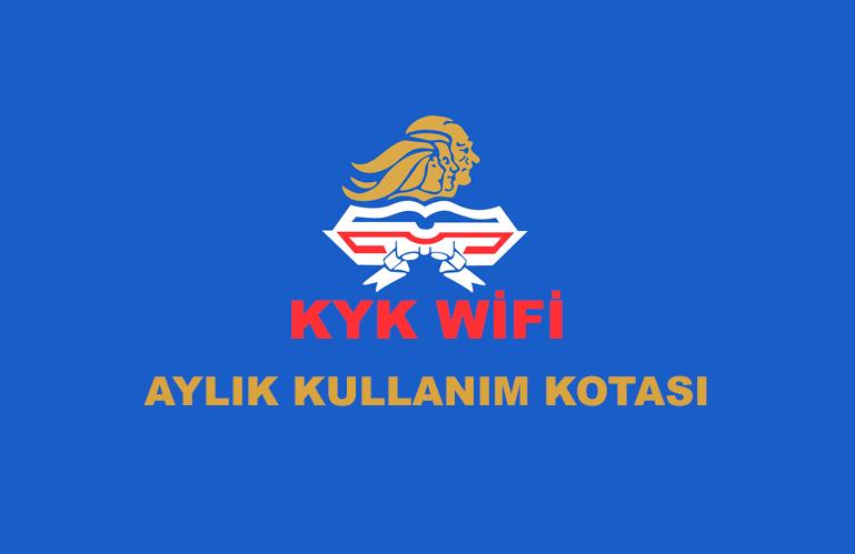 KYK Wifi' ye Kota Geldi